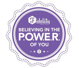 Fidelity Bank POWER logo