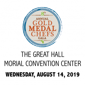 Gold Medal Chefs Gala August 14, 2019