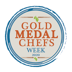 Gold Medal Chefs Week 2020 logo